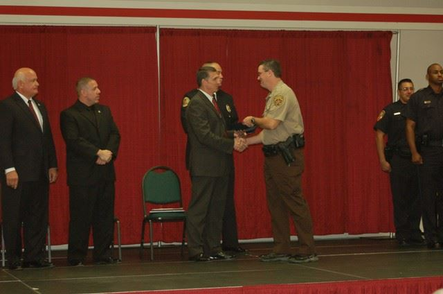 Deputy Rettler, the Latest Shelby County Sheriff's Deputy, Graduates After Successfully Completin